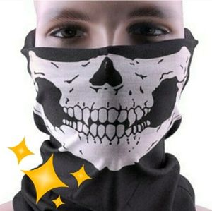 ♦️Free?♦Skull Face Shield Bandana Scarf Headband